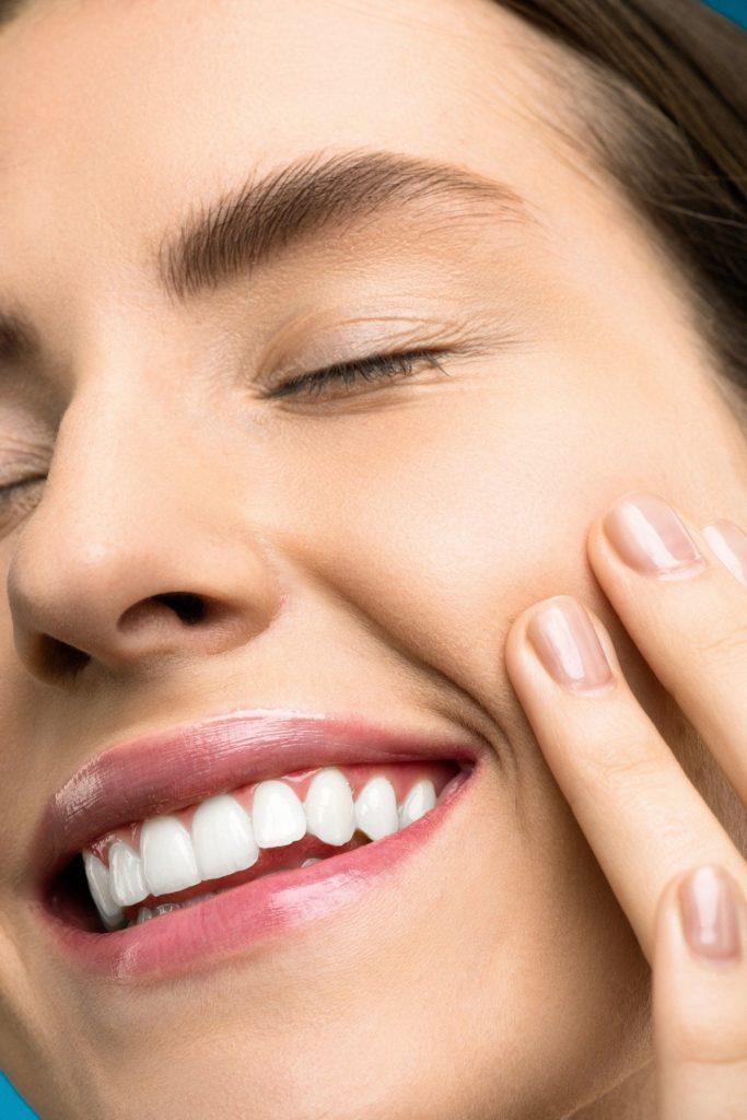 Zahnaerzte in der Filzfabrik-Speyer -Aesthetische Zahnheilkunde-Modell-Gesicht1